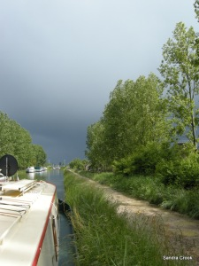 Another storm looms over St Jean de Losne