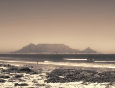 Sepia Tabl;e Mountain