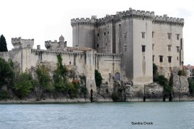 Castle at Tarrascon, France