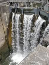 Lock at Castets, France