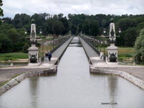 The Aqueduct over the Loire at Briare