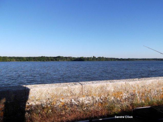 View from wheelhouse at Baye.