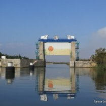 Flood lock - Rhone a Sete
