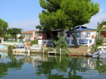 Fishermens' cottages Rhone a Sete