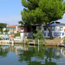 Fishermens' cottages Rhone a Sete