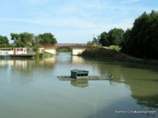 Duckhouse at Castelsarrasin on the Lateral a Garonne