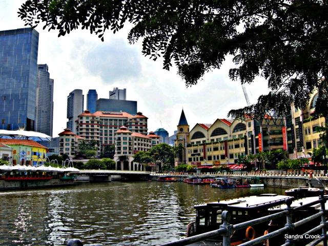 Singapore - the bum boats