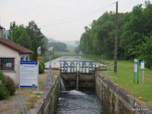 No 1 lock with second mooring on right