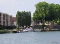 Auxonne pontoon moorings